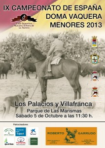IX CAMPEONATO DE ESPAÑA DE MENORES DE DOMA VAQUERA