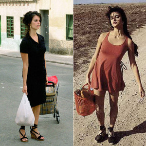 Fotos de Penélope Cruz llevando zapatillas de esparto