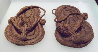 Antigua zapatilla de esparto