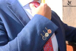 americanas, chaquetas, botones de colores, chaquetas con botones de colores