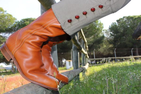 moda rociera, botas camperas, bota rociera, bota campera