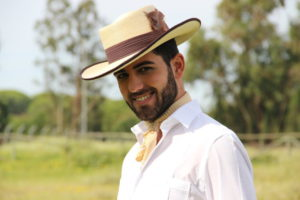 moda rociera, gambler, sombrero