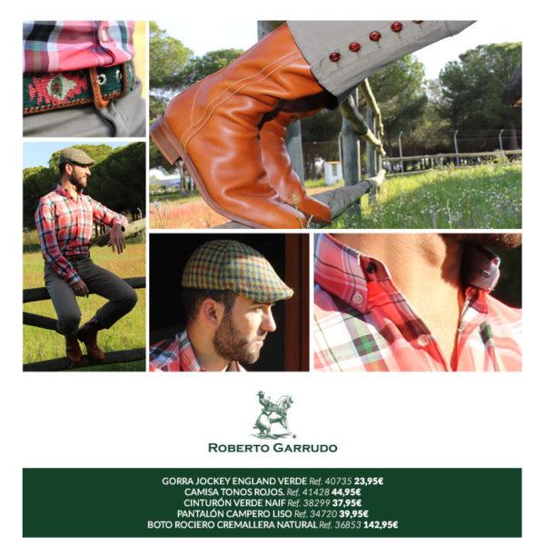 moda rociera, botos, botas camperas, El Rocío, Rocío 2017