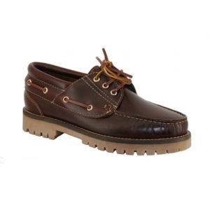 zapatos para la vuelta al cole, náutico marrón