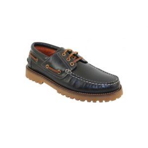 zapatos para la vuelta al cole, náutico azul