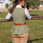 chalequillo de mujer, chalequillo de amazona